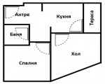 Двустаен апартамент, София, Витоша