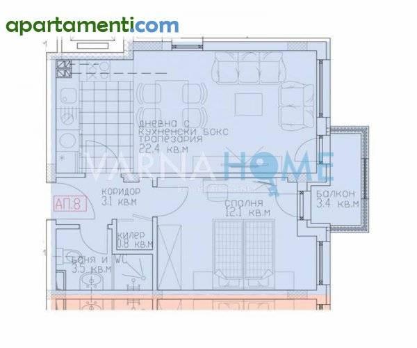 Двустаен апартамент Варна м-т Сотира 1