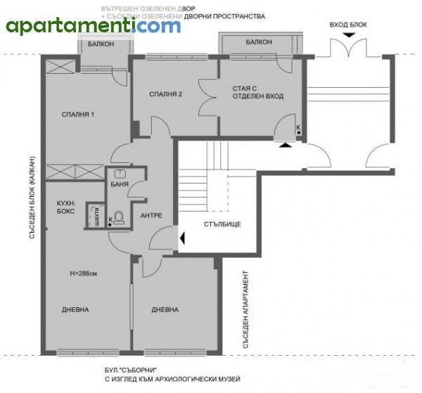 Многостаен апартамент, Варна, Център 1