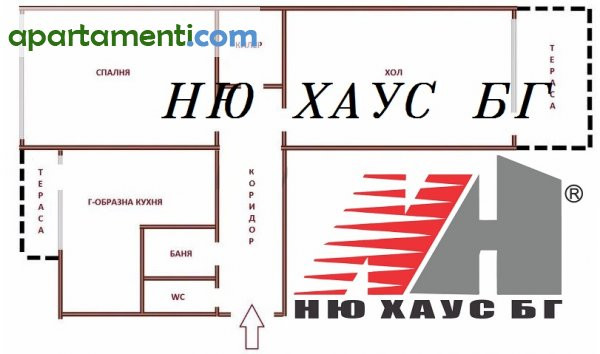 Тристаен апартамент, Варна, Електрон 1