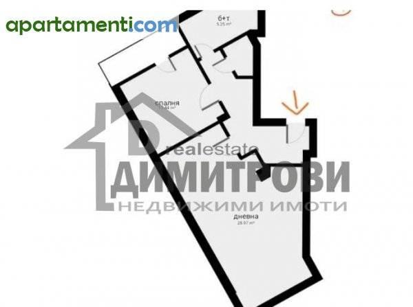 Двустаен апартамент Варна Чайка 8