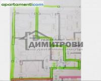 Тристаен апартамент Варна Електрон