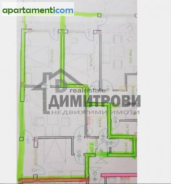 Тристаен апартамент Варна Електрон 1