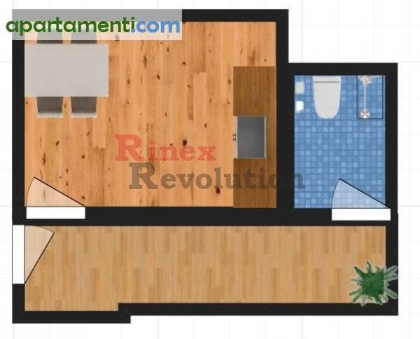 Едностаен апартамент, Пловдив, Кършияка 4