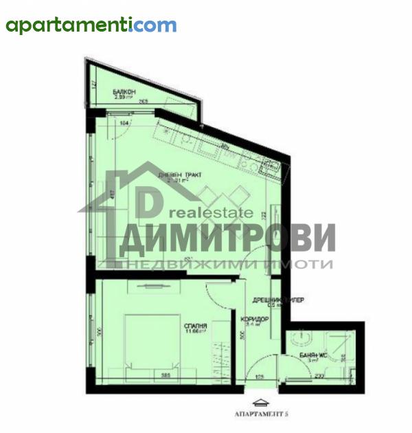 Двустаен апартамент Варна Левски 2