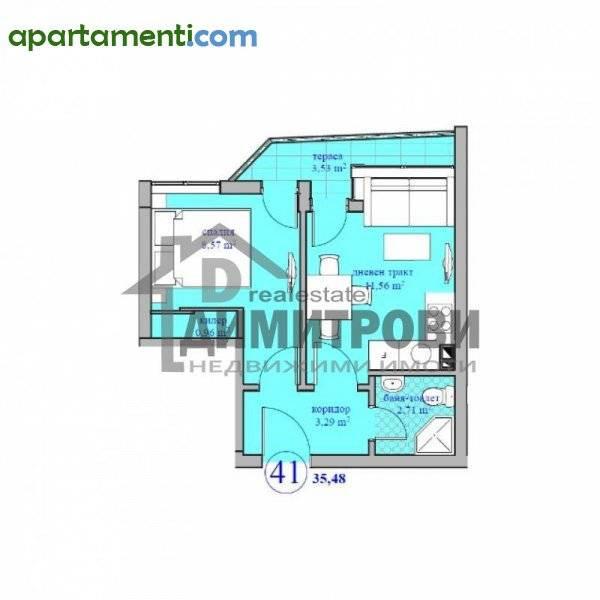 Двустаен апартамент Варна Колхозен Пазар 1