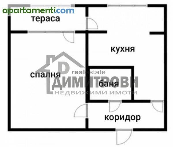 Двустаен апартамент Варна Трошево 12