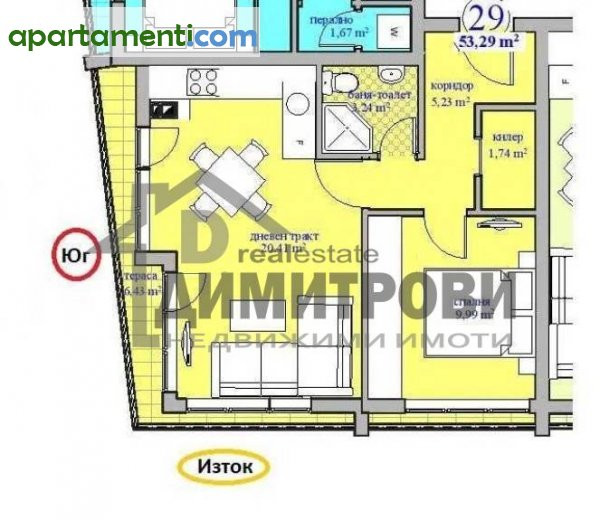 Двустаен апартамент Варна Център 7