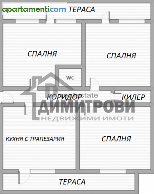 Четиристаен апартамент Варна Спортна Зала 1