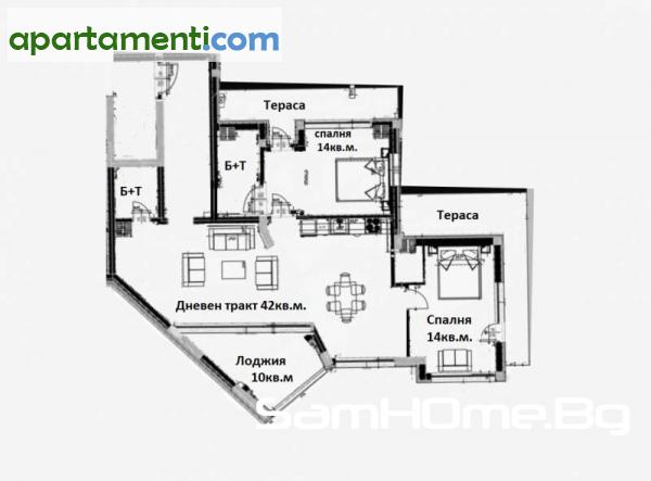 Тристаен апартамент Варна Погребите 2