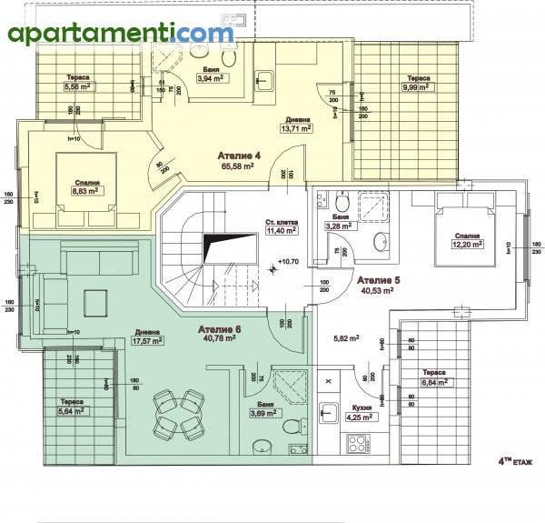 Двустаен апартамент, Бургас, Акациите 3
