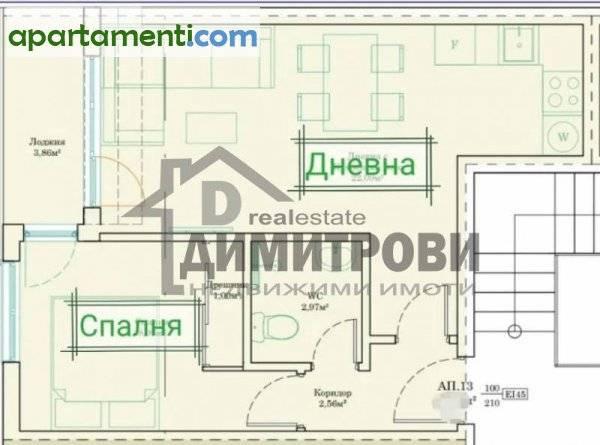 Двустаен апартамент Варна Кайсиева Градина 1