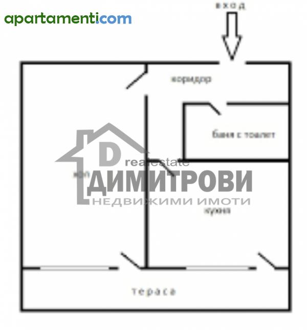 Двустаен апартамент Варна Чаталджа 7