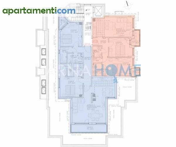 Тристаен апартамент Варна м-т Сотира 2