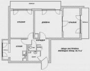 Снимка на имота Тристаен апартамент, София, Красна Поляна | Продава имоти София